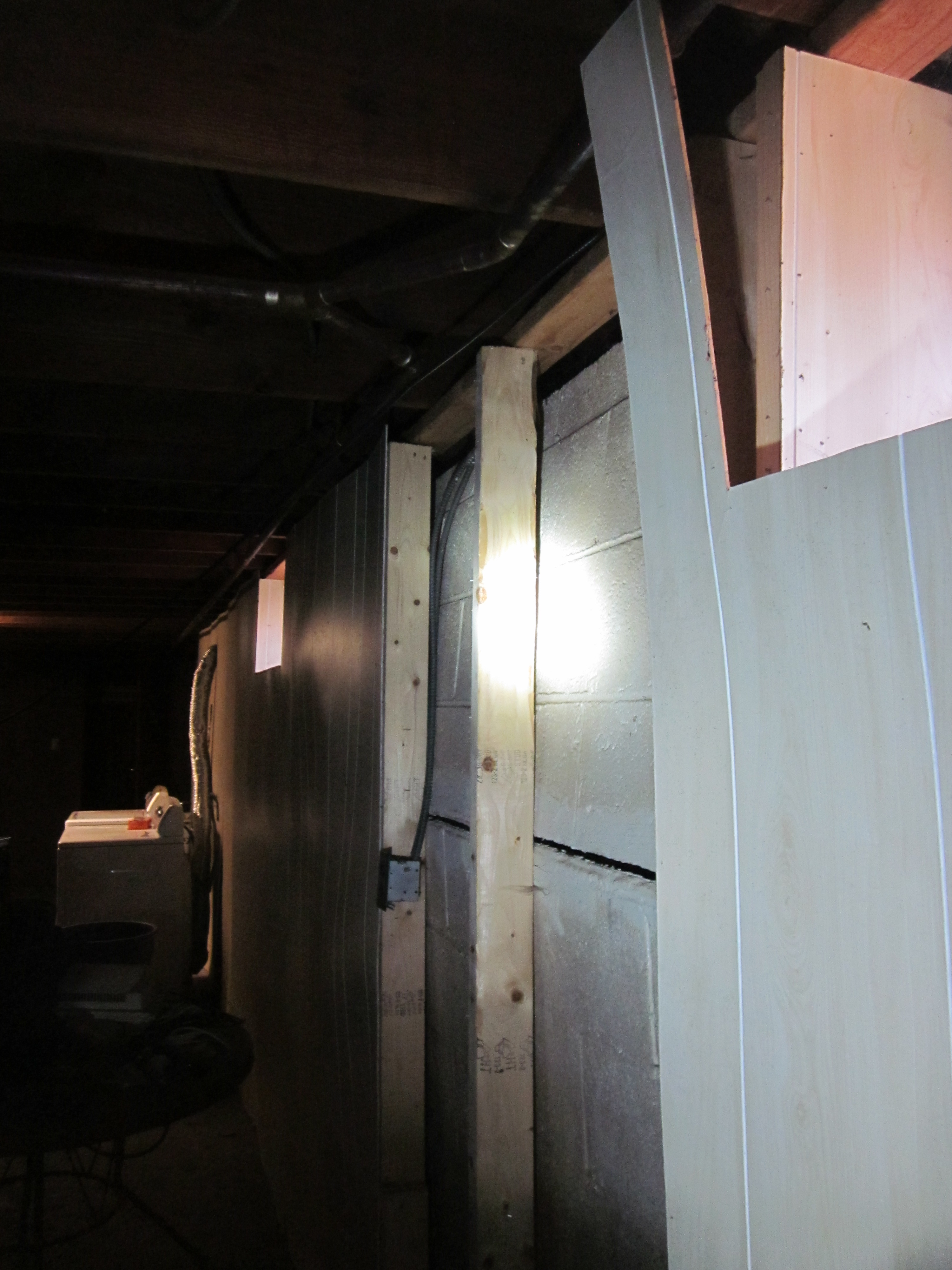 bowing basement wall