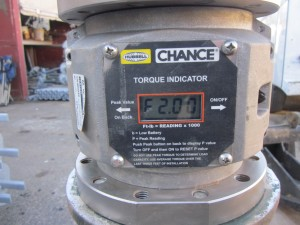 Digital Torque Indicator for acturate monitoring
